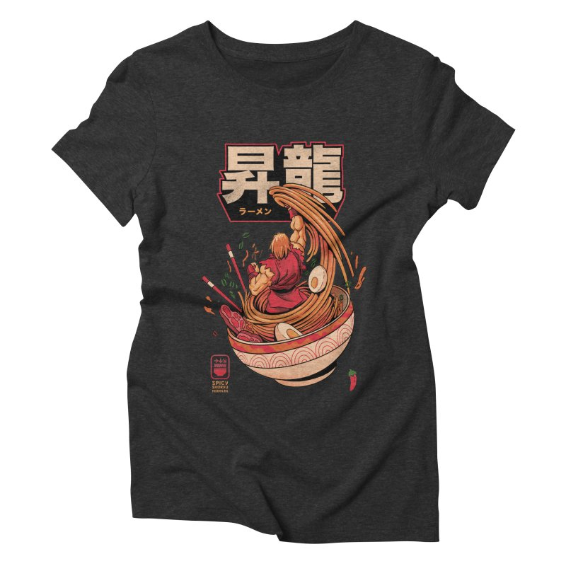 Spicy Shoryu Noodles Women's Triblend T-Shirt by MadKobra