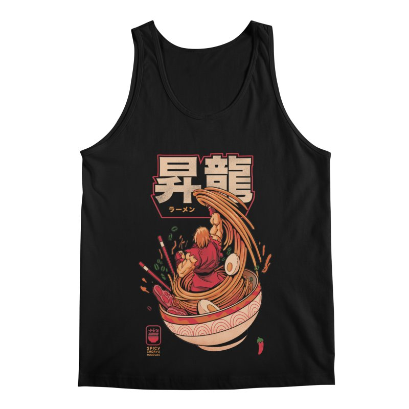 Spicy Shoryu Noodles Men's Regular Tank by MadKobra
