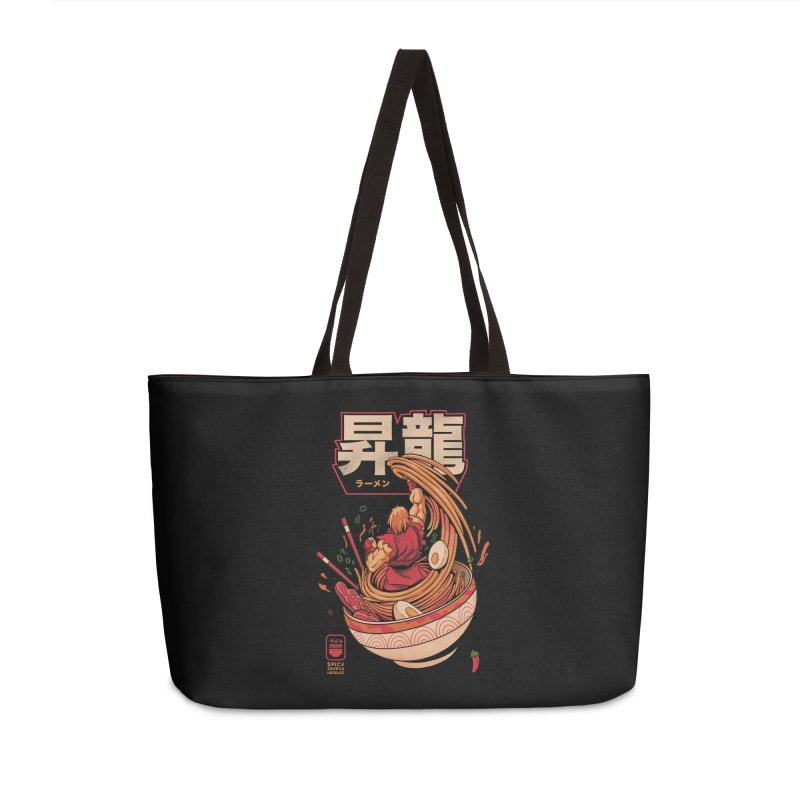 Spicy Shoryu Noodles Accessories Weekender Bag Bag by MadKobra