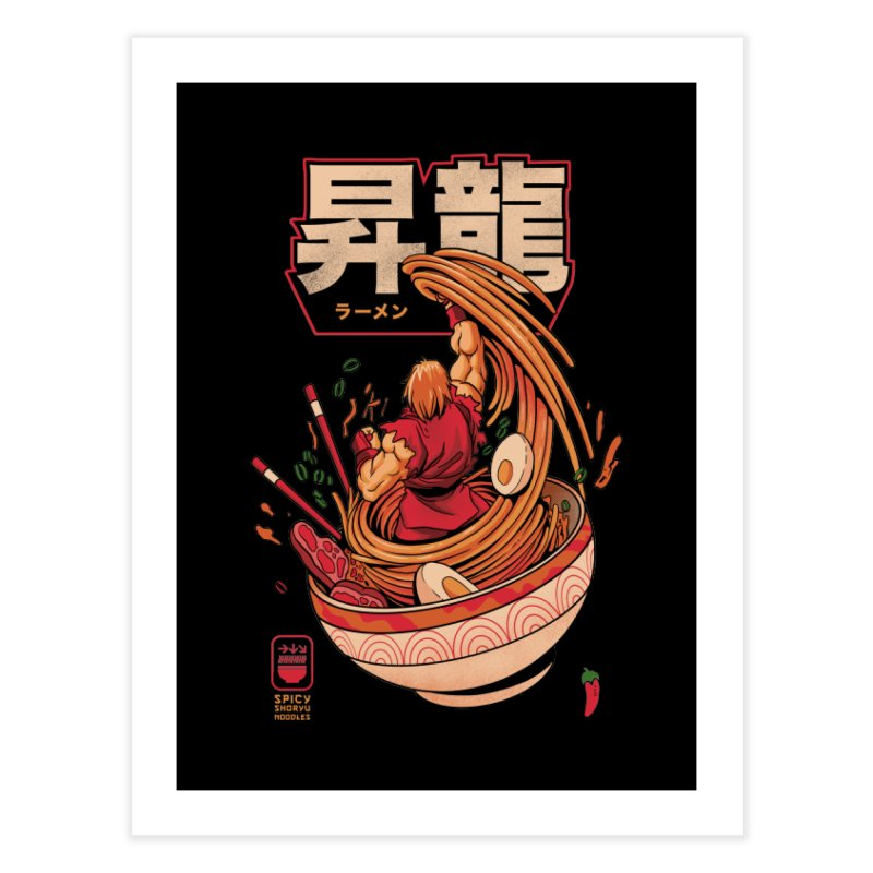Spicy Shoryu Noodles Home Fine Art Print by MadKobra