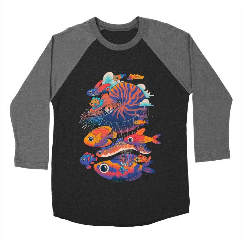 Chico's journey Women's Baseball Triblend Longsleeve T-Shirt by MadKobra
