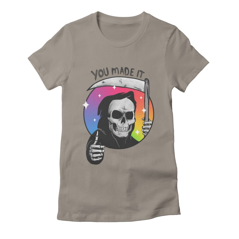 yay you made it! Women's Fitted T-Shirt by MadKobra