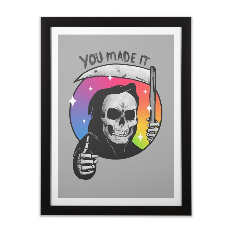 yay you made it! Home Framed Fine Art Print by MadKobra