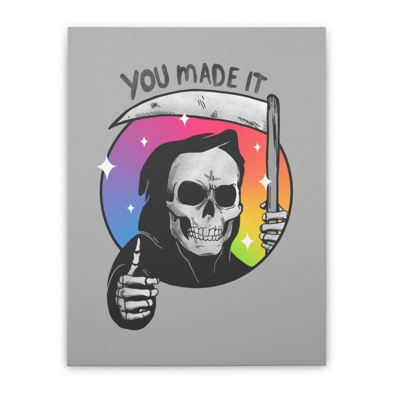 yay you made it! Home Stretched Canvas by MadKobra
