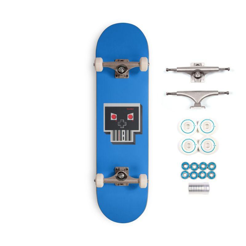 You Die Accessories Complete - Basic Skateboard by MadKobra