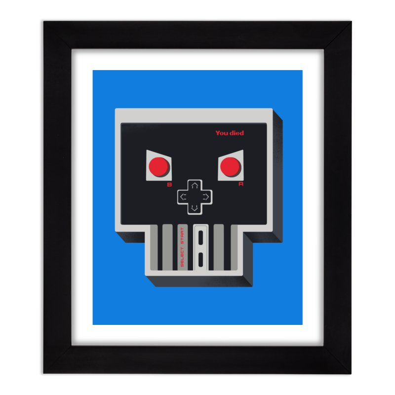 You Die Home Framed Fine Art Print by MadKobra