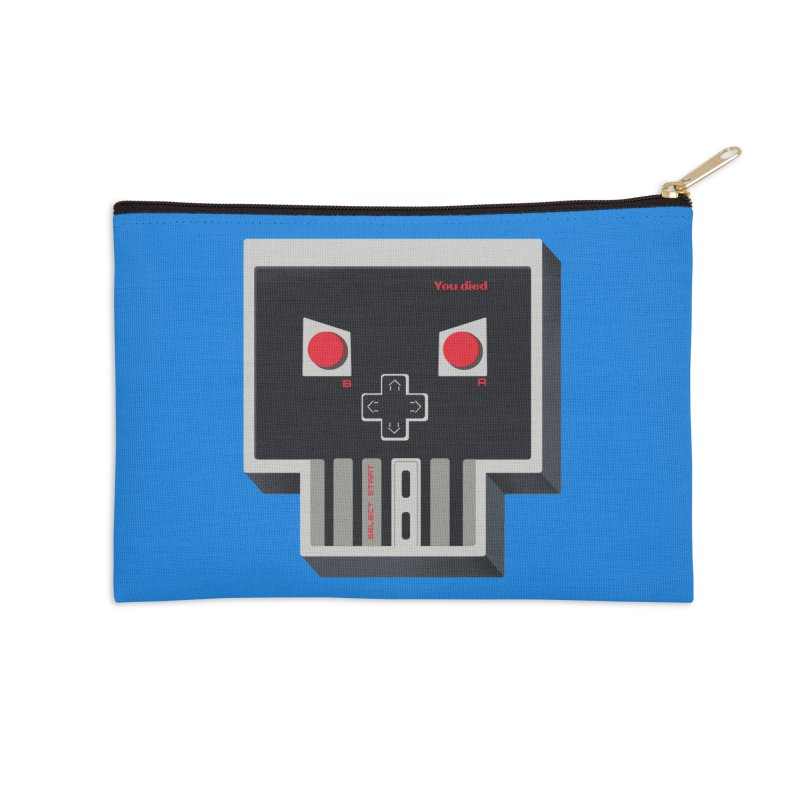 You Die Accessories Zip Pouch by MadKobra