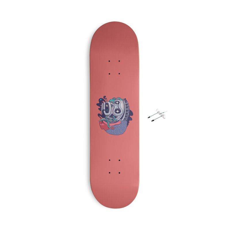 Cosmic taino mask Accessories Skateboard by MadKobra