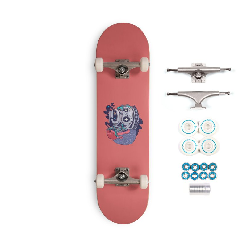 Cosmic taino mask Accessories Complete - Basic Skateboard by MadKobra