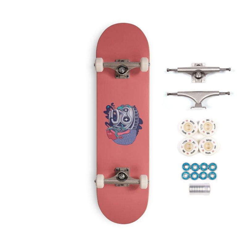 Cosmic taino mask Accessories Complete - Premium Skateboard by MadKobra