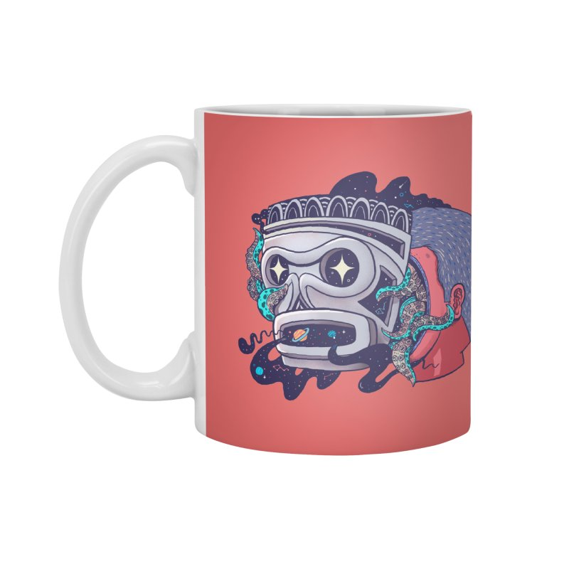 Cosmic taino mask Accessories Mug by MadKobra