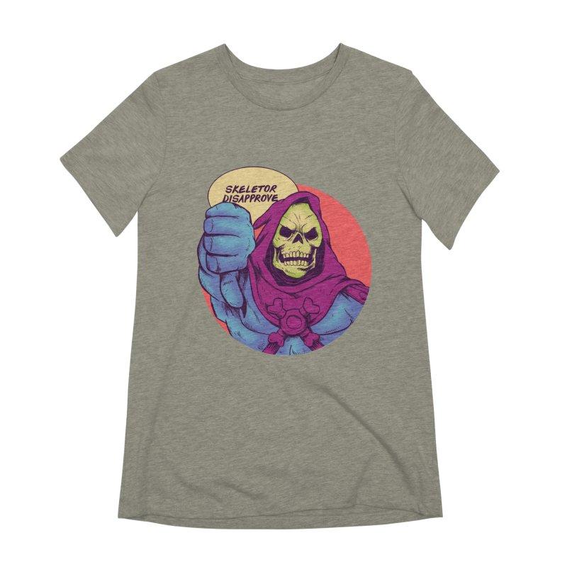 Master of hate Women's Extra Soft T-Shirt by MadKobra