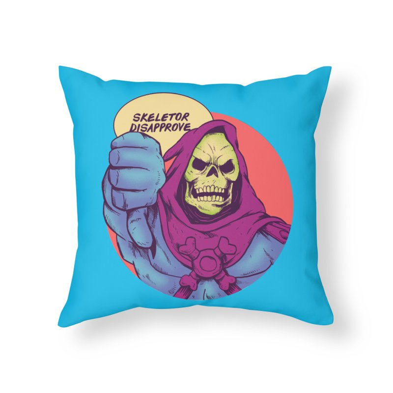 Master of hate Home Throw Pillow by MadKobra
