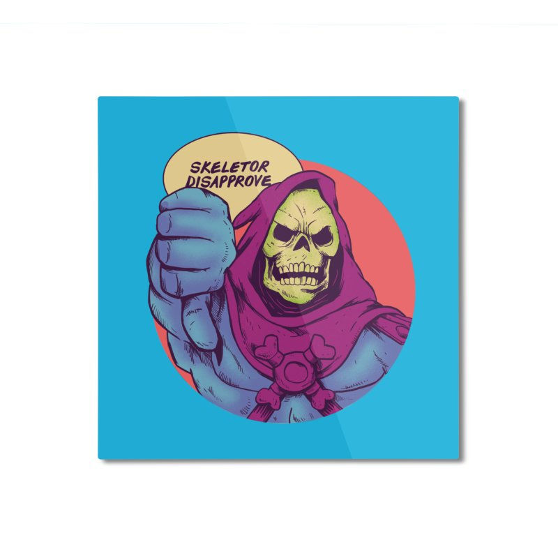 Master of hate Home Mounted Aluminum Print by MadKobra