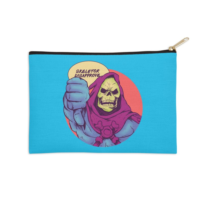 Master of hate Accessories Zip Pouch by MadKobra