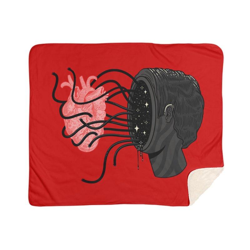 You always on my mind Home Sherpa Blanket Blanket by MadKobra