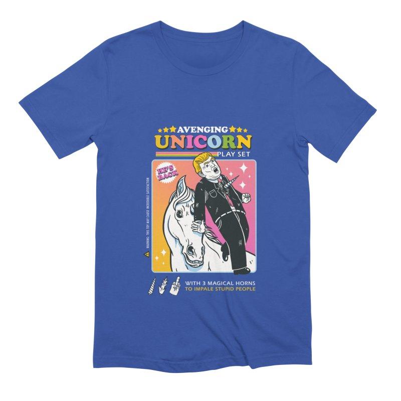 avenging unicorn play set Men's Extra Soft T-Shirt by MadKobra