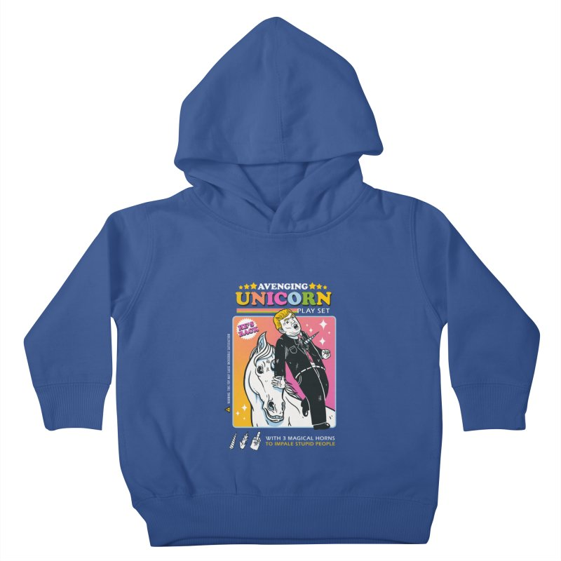 avenging unicorn play set Kids Toddler Pullover Hoody by MadKobra