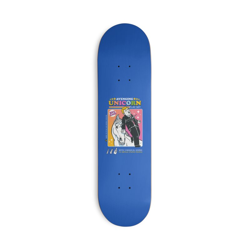 avenging unicorn play set Accessories Skateboard by MadKobra