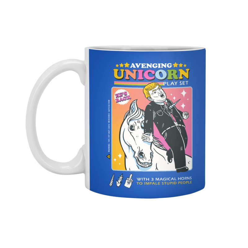 avenging unicorn play set Accessories Standard Mug by MadKobra