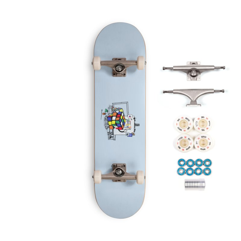 rubik's cubism Accessories Complete - Premium Skateboard by MadKobra