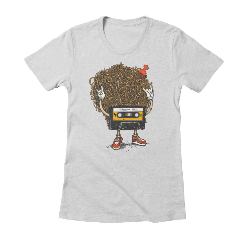 Awesome Mix Women's Fitted T-Shirt by MadKobra