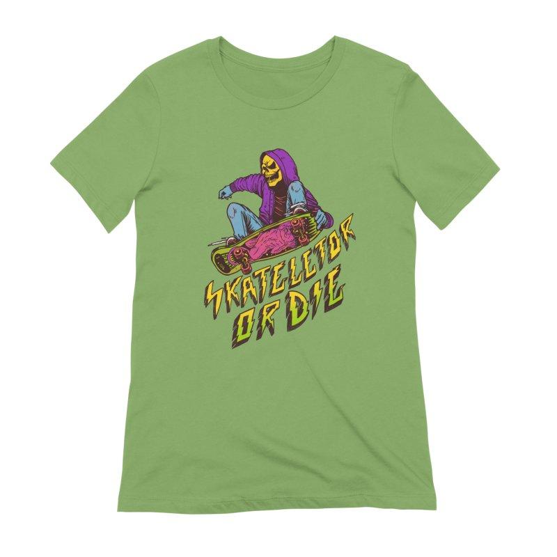 Skateletor or Die Women's Extra Soft T-Shirt by MadKobra