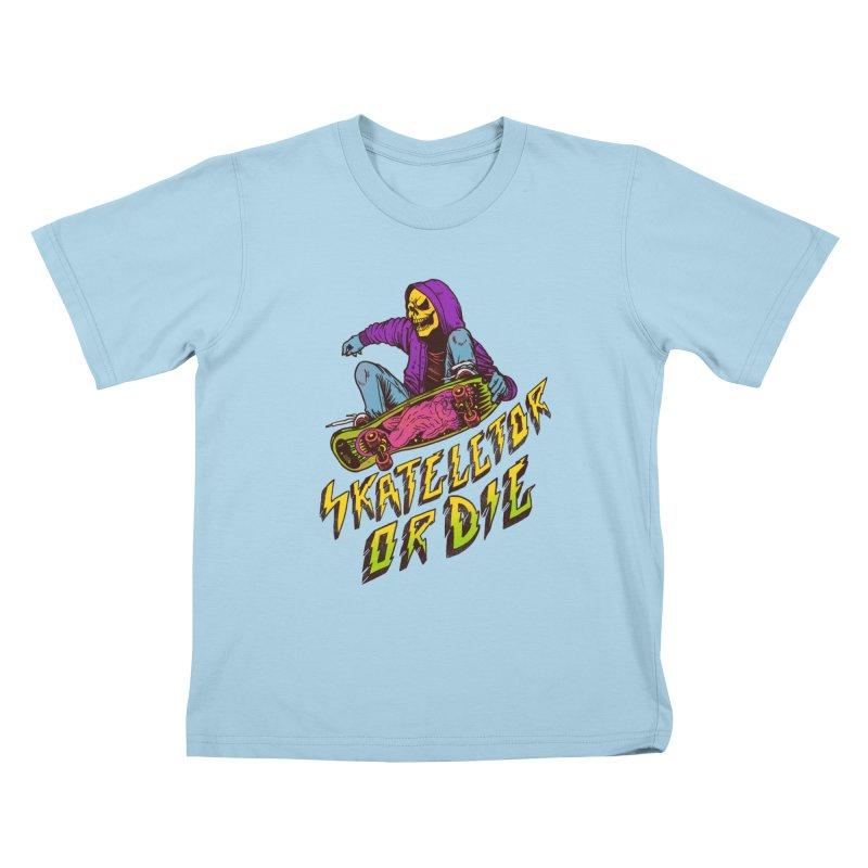 Skateletor or Die Kids T-Shirt by MadKobra