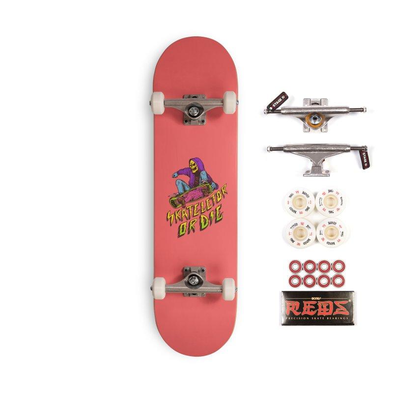 Skateletor or Die Accessories Complete - Pro Skateboard by MadKobra