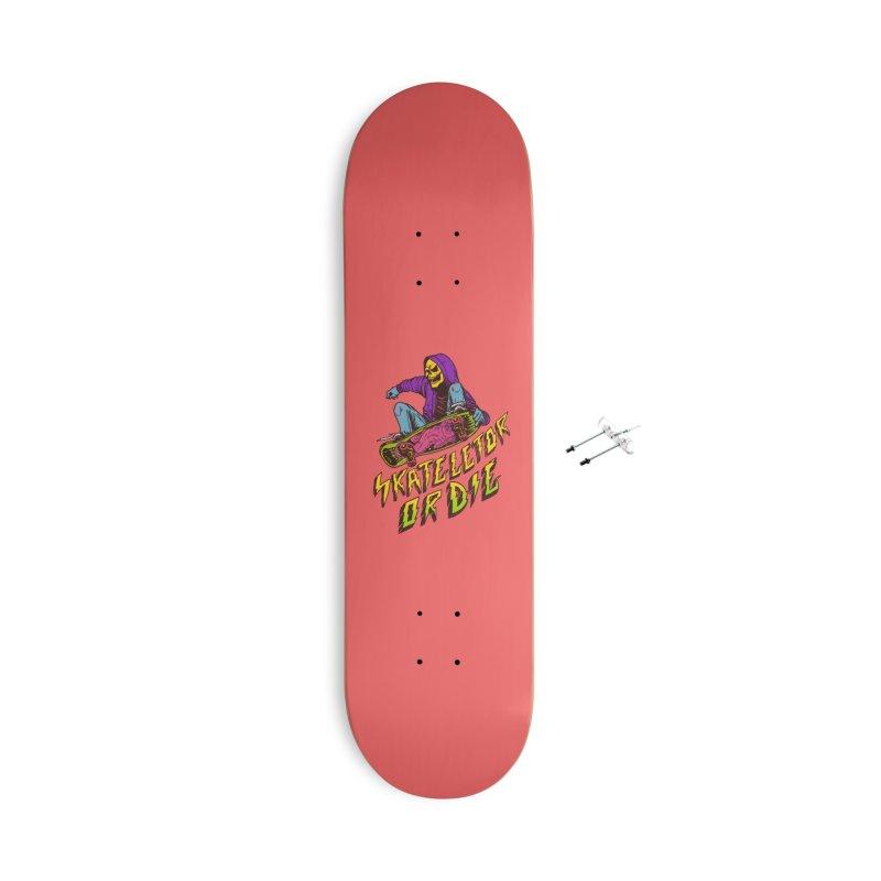 Skateletor or Die Accessories Skateboard by MadKobra