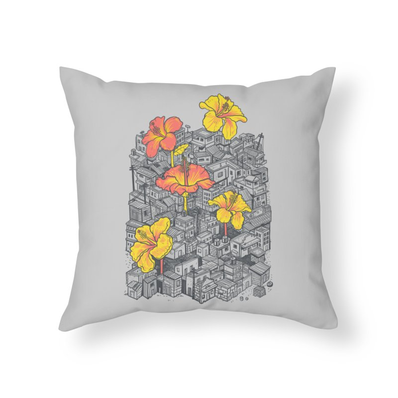 Seeds of Hope Home Throw Pillow by MadKobra