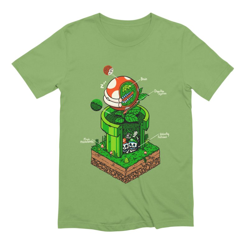 -1up Men's Extra Soft T-Shirt by MadKobra