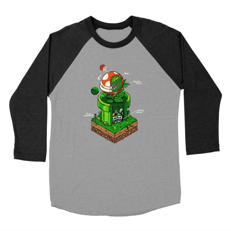 -1up Women's Longsleeve T-Shirt by MadKobra