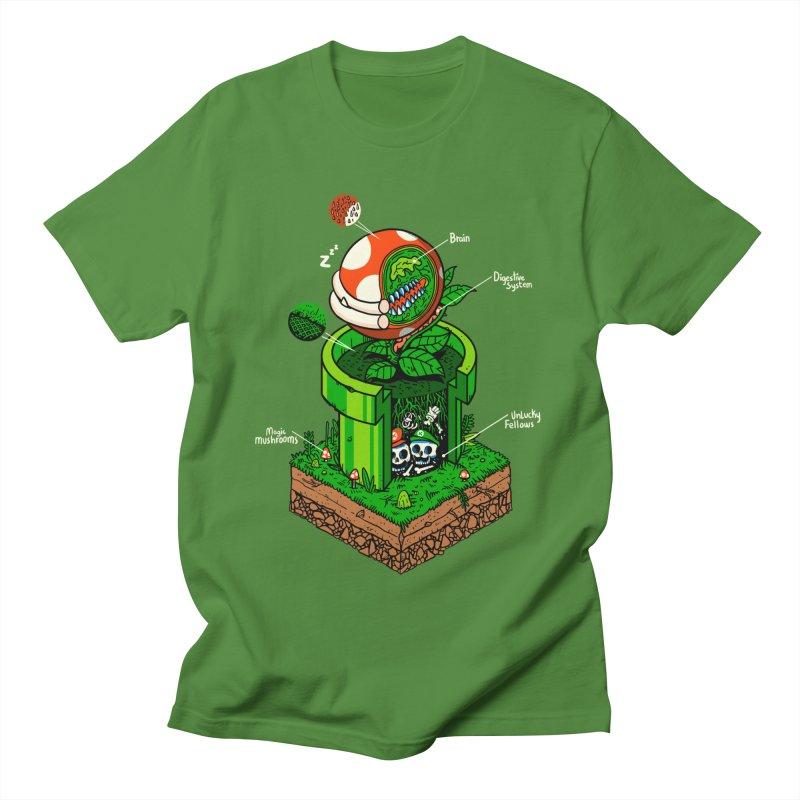 -1up Women's Regular Unisex T-Shirt by MadKobra