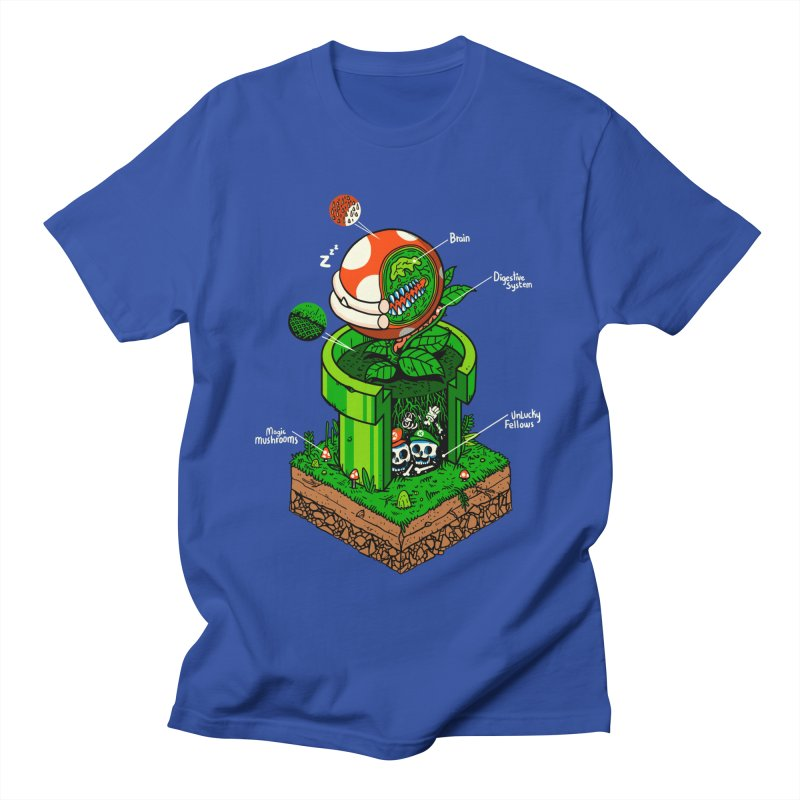 -1up Men's Regular T-Shirt by MadKobra