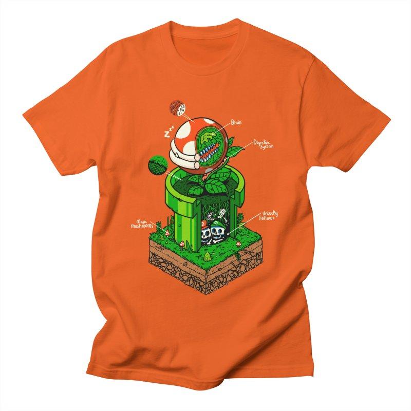 -1up Men's T-Shirt by MadKobra