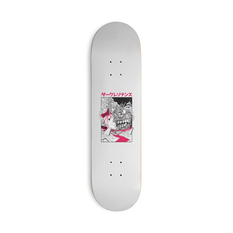Dark Resonance Accessories Deck Only Skateboard by MadKobra