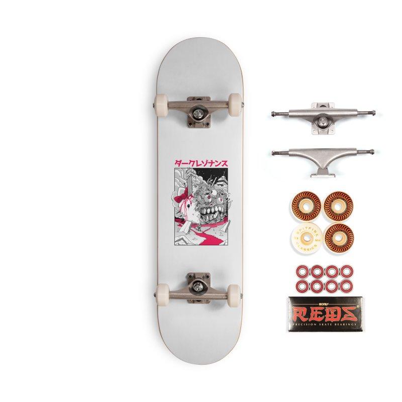 Dark Resonance Accessories Skateboard by MadKobra