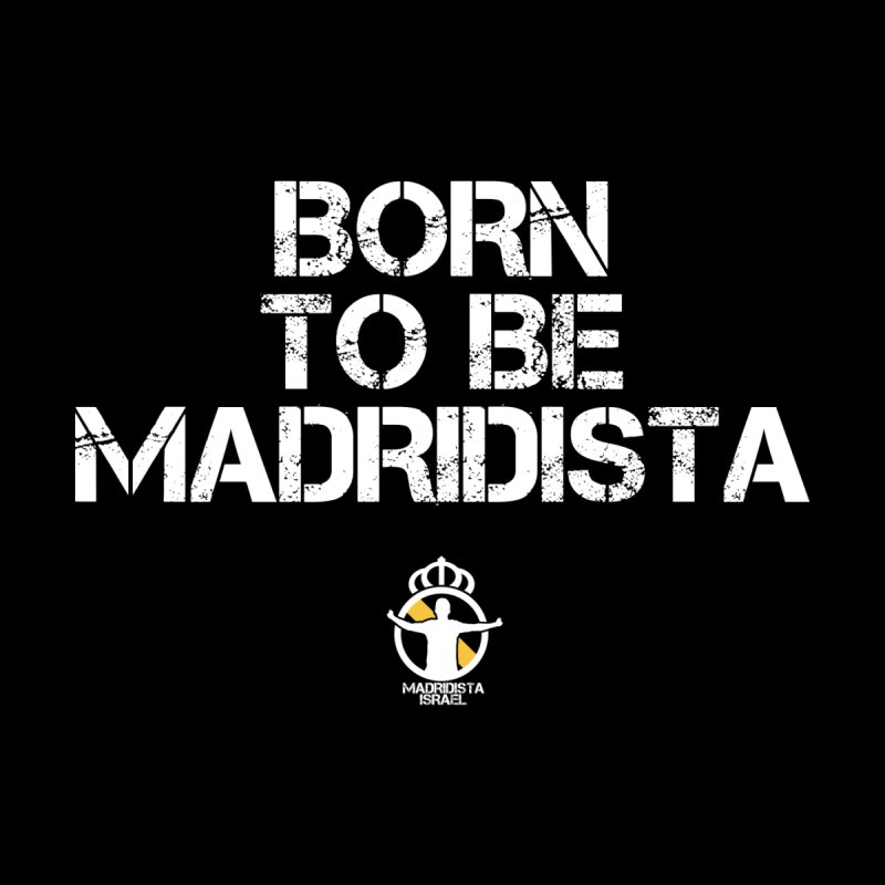 Born To Be Madridista Women's V-Neck by Madridista Israel