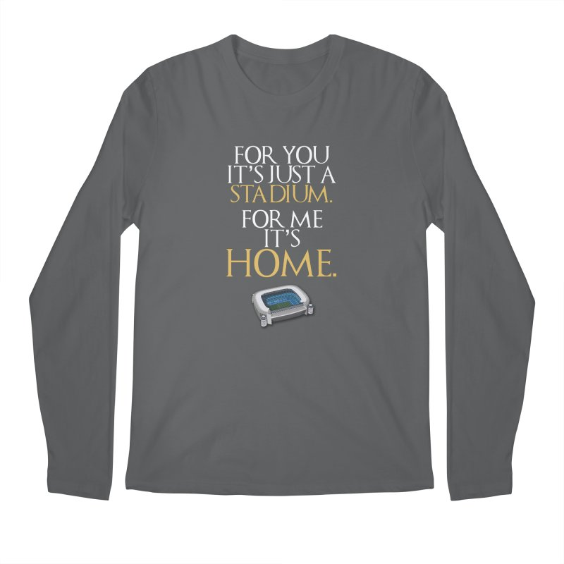 For me it's HOME Men's Longsleeve T-Shirt by Madridista Israel