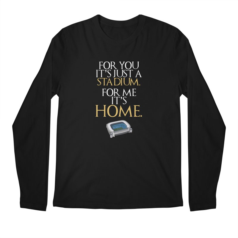 For me it's HOME Men's Regular Longsleeve T-Shirt by Madridista Israel