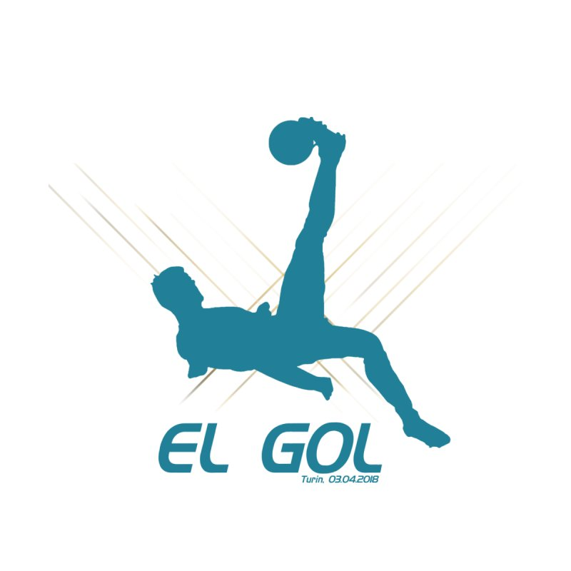 El Gol Men's T-Shirt by Madridista Israel