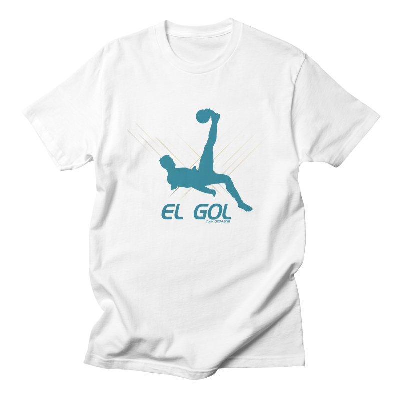 El Gol Men's Regular T-Shirt by Madridista Israel
