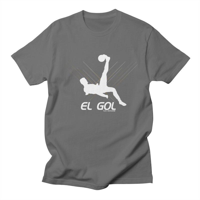 El Gol (Dark) Men's T-Shirt by Madridista Israel