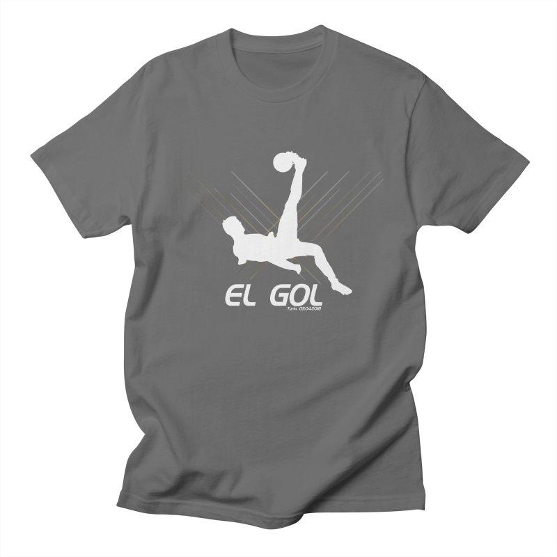 El Gol (Dark) Men's Regular T-Shirt by Madridista Israel