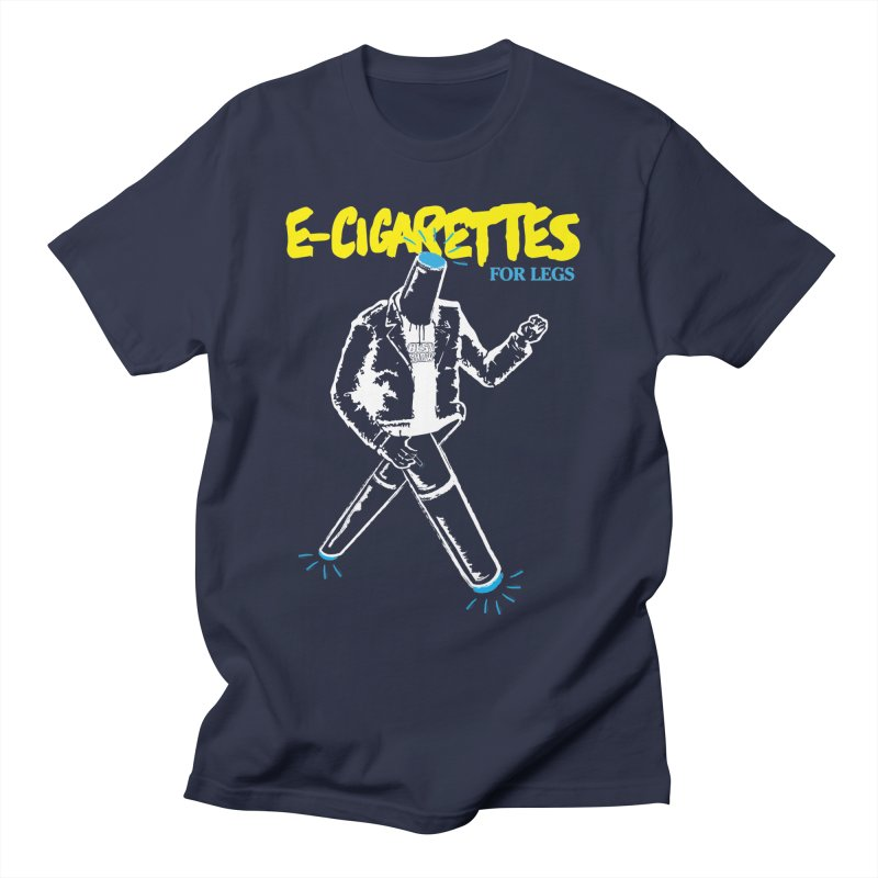 ECIGS-4-LEGS Men's T-Shirt by madworldindustries's Artist Shop