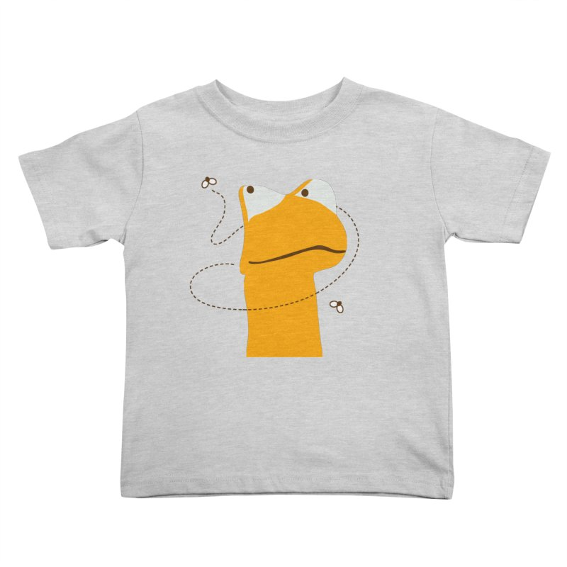 Felix the Frog (on light colors) Kids Toddler T-Shirt by mafemaria