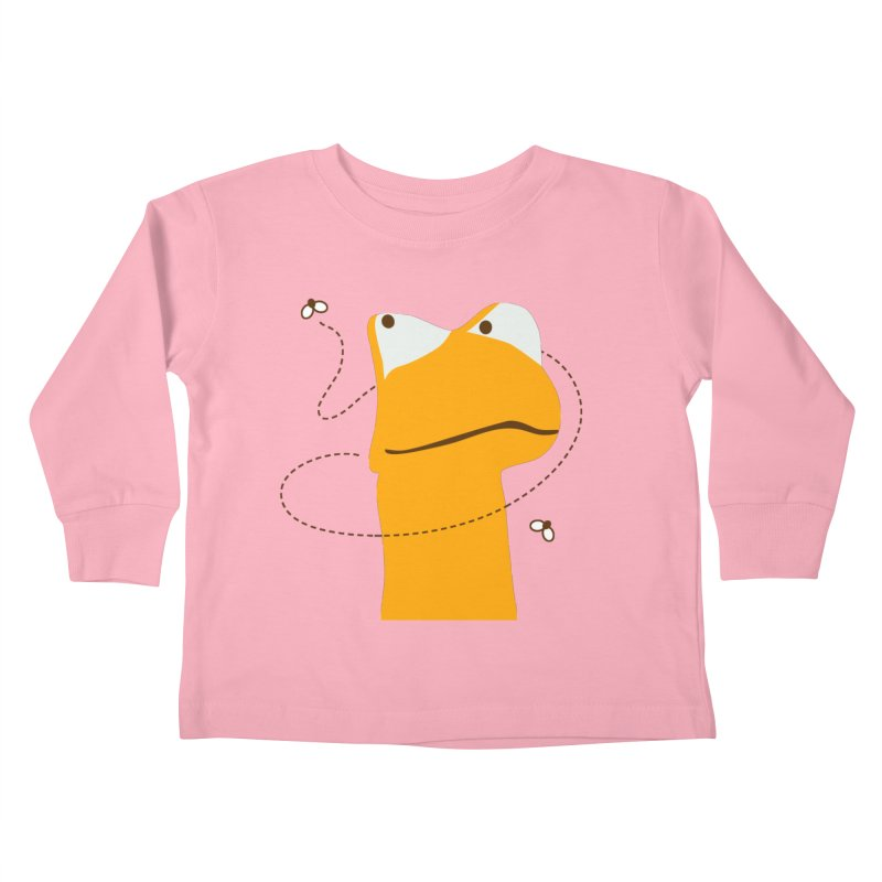 Felix the Frog (on light colors) Kids Toddler Longsleeve T-Shirt by mafemaria