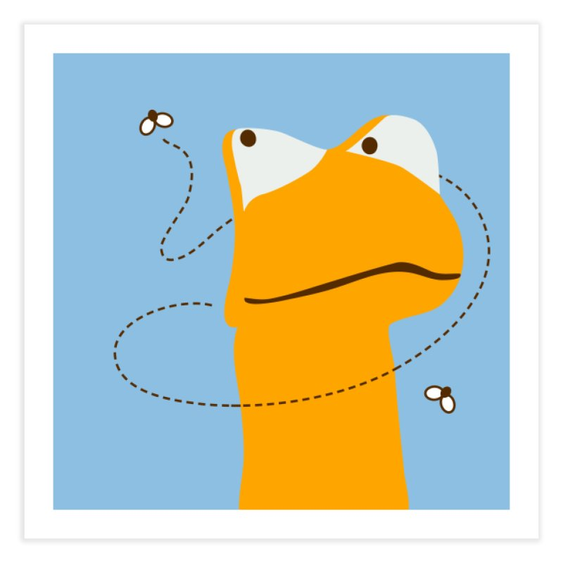 Felix the Frog (on light colors) Home Fine Art Print by mafemaria