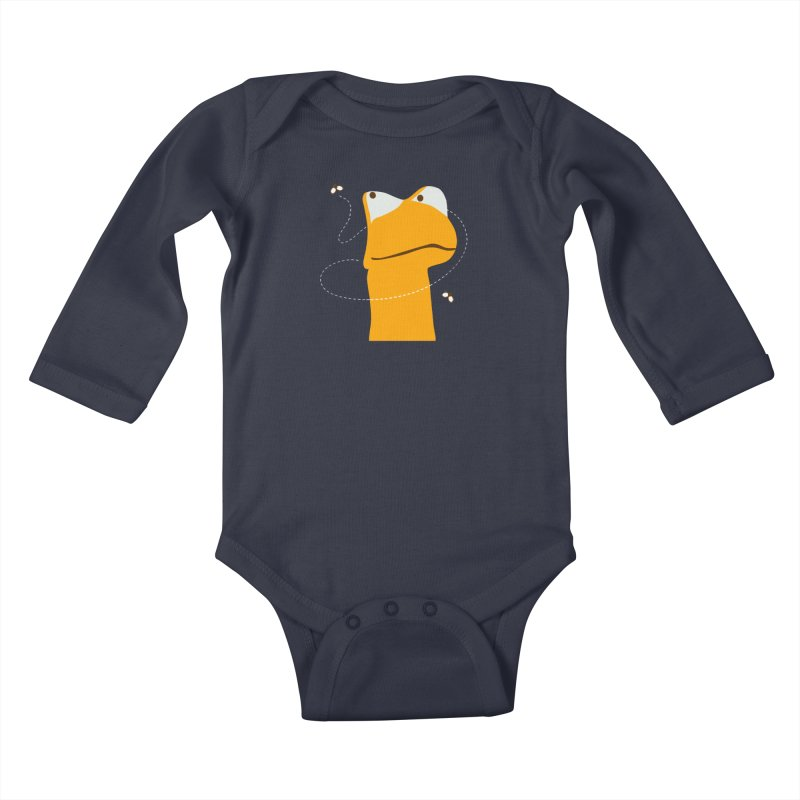 Felix (on dark colors) Kids Baby Longsleeve Bodysuit by mafemaria
